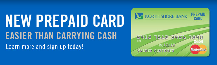 Prepaid Card - Easier than carrying cash.