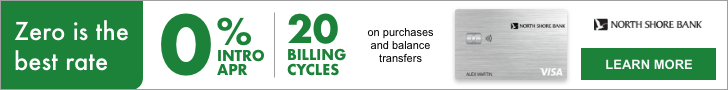 Zero is the best rate. 0% intro APR for 20 billing cycles on purchases and balance transfers. Learn more today.